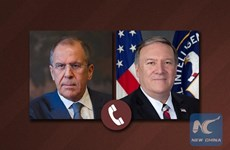 Ngoại trưởng Nga-Mỹ điện đàm về khủng hoảng dầu mỏ, kiểm soát vũ khí