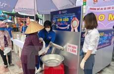 """Niềm vui từ cây """"ATM gạo"""" đầu tiên tại thành phố Hải Phòng"""