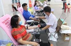 Gần 2.000 thanh niên, công nhân TPHCM tham gia hiến máu tình nguyện