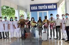 8 bệnh nhân mắc COVID-19 điều trị tại Ninh Bình được công bố khỏi bệnh