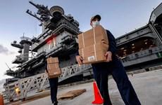 Hải quân Mỹ xác nhận 26 tàu chiến có ca nhiễm SARS-CoV-2
