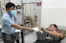 5 cán bộ, chiến sỹ bị thương khi vây bắt các đối tượng buôn lậu