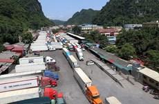 Đa dạng hình thức vận chuyển giảm áp lực cho cửa khẩu đường bộ