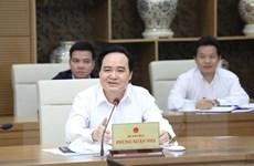 Bộ trưởng Phùng Xuân Nhạ: Không bắt học sinh làm nhiều bài kiểm tra