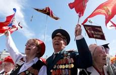 Lãnh đạo Việt Nam gửi thư chúc mừng Nga nhân 75 năm ngày Chiến thắng