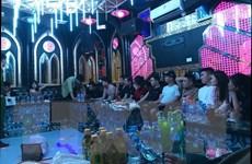 Nam Định: 13 đối tượng tụ tập, sử dụng ma túy trong quán karaoke