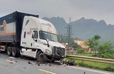 Lạng Sơn: Tai nạn giao thông nghiêm trọng khiến 3 người thương vong
