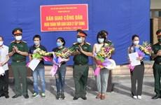 Ninh Bình bàn giao 81 công dân hoàn thành thời gian cách ly