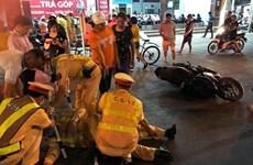 Nam Định bắt giữ hai đối tượng lao xe vào cảnh sát giao thông