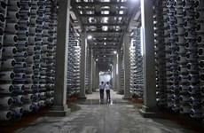 Israel chuẩn bị xây dựng nhà máy khử mặn lớn nhất thế giới