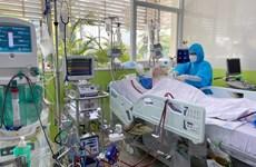 Bệnh nhân 91 bắt đầu được ngưng thuốc giãn cơ, có tín hiệu tỉnh