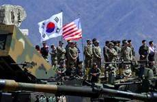 Mỹ-Hàn đạt thỏa thuận về chi phí cho nhân viên tại các căn cứ Mỹ