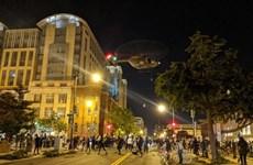 Mỹ điều tra việc sử dụng máy bay trực thăng uy hiếp người biểu tình