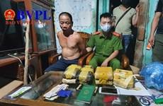 """Điện Biên: Bắt """"nóng"""" ông trùm cùng 42.200 viên ma túy tổng hợp"""