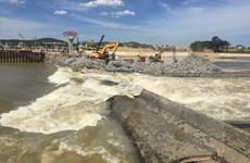 Tỉnh Nghệ An nỗ lực khắc phục sự cố vỡ đập Bara Đô Lương