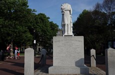 Mỹ: Thị trưởng Boston lên án việc đập phá tượng Christopher Columbus