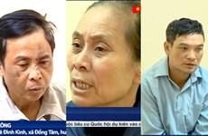 Vụ gây rối trật tự tại xã Đồng Tâm: Đề nghị truy tố 29 bị can