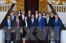 Thủ tướng tiếp Đoàn doanh nghiệp Trung Quốc đầu tư tại Việt Nam
