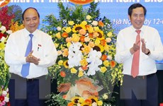 Thủ tướng thăm, chúc mừng Báo Nhân Dân nhân dịp Ngày Báo chí Cách mạng
