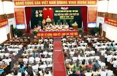 Ninh Thuận tổ chức đại hội đảng bộ cấp trên cơ sở đầu tiên