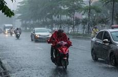 Bão số 1 đã suy yếu thành áp thấp nhiệt đới, Hà Nội sắp mưa rất to