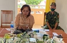 Bắt nhóm đối tượng đi xe máy vượt biên giới mang ma túy vào Việt Nam
