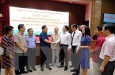Lãnh đạo thành phố Hà Nội gặp mặt hơn 300 đại biểu nhà báo