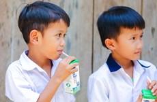 33.000 trẻ em miền núi Quảng Nam uống sữa miễn phí nhờ sữa học đường