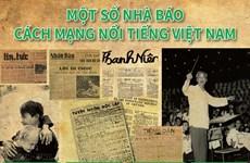 [Infographics] Một số nhà báo cách mạng nổi tiếng Việt Nam