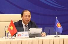 ASEAN trao đổi về công tác chuẩn bị cho hoạt động sắp tới