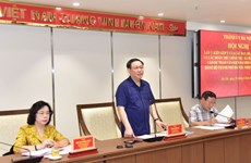 Hội nghị góp ý vào dự thảo Văn kiện Đại hội Đảng bộ thành phố Hà Nội