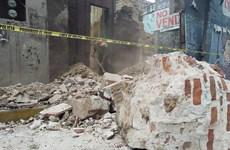 Động đất tại Mexico: Số người thiệt mạng tiếp tục tăng