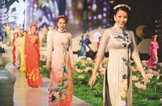 """Đặc sắc đêm trình diễn """"Áo dài - Di sản văn hóa Việt Nam"""""""