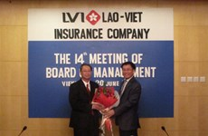 Liên doanh Bảo hiểm Lào Việt thay đổi các nhân sự chủ chốt