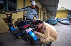 Giám sát chặt xe máy điện nhập khẩu trước ngày 1/7 bắt lỗi vi phạm
