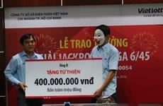 Người trúng Jackpot 56 tỷ đồng xuất hiện, dành 1 tỷ đồng làm từ thiện