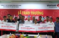 Ba người trúng Jackpot bất ngờ xuất hiện, nhận giải 127 tỷ đồng
