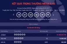 Hai khách hàng ở Đồng Nai, Quảng Ninh chia đôi giải Jackpot 20 tỷ đồng