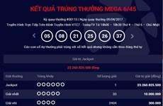 Chiếc vé trúng giải Jackpot 23 tỷ đồng được phát hành tại quận Ba Đình