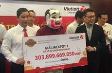 Người trúng số 304 tỷ đồng: 'Chiếc vé đó tôi chọn một cách ngẫu nhiên'