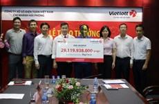 Một tài xế quê ở Nghệ An trúng giải Jackpot hơn 29 tỷ đồng
