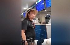 Cấm bay 12 tháng nữ công an chửi mắng nhân viên hàng không