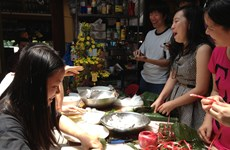 Đón Xuân trong ''Ngôi nhà sinh viên Việt Nam'' tại Australia