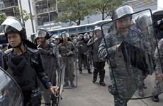 Quân đội Thái Lan kêu gọi các bên kiềm chế bạo lực
