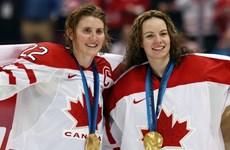 Canada thắng Mỹ đầy kịch tính để giành HCV Hockey nữ