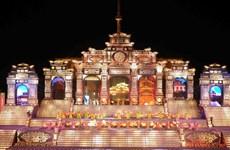 [Photo] Lộng lẫy, hoành tráng lễ khai mạc Festival Huế 2014