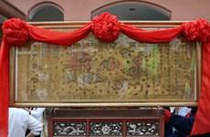 [Photo] Lễ trao tặng bản gốc Sắc phong tại Thừa Thiên-Huế