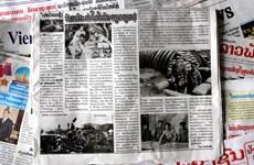 Truyền thông Lào ca ngợi về Chiến thắng Điện Biên Phủ