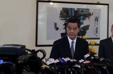 Chính quyền Hong Kong sẽ đối thoại với sinh viên vào 21/10