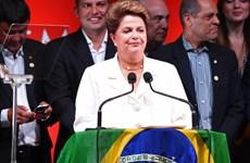 Phục hồi kinh tế, chống tham nhũng là ưu tiên của bà Rousseff
